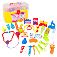 30Pcs Baby Kids Doctor Nurse Medical Play Toy Set Carry Case Kit Education Role