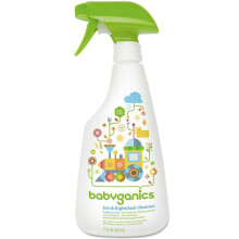 [free ongkir]Babyganics Toy & Highchair Cleaner Fragrance Free - 502ml