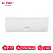 SHARP AC Standard 1 PK - AH-A9UCY [Indoor + Outdoor Unit Only]