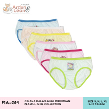 Arden & Leon Celana Dalam Anak Perempuan 3 pcs Playful Girl Collection F1A-G14