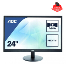 AOC M2470SWH/70 24 inch MVA Panel FHD HDMI Monitor with Speaker