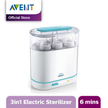 AVENT SCF284/02 3-in-1 Electric Steam Sterilizer