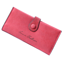 SiYing Korean version of the buckle matte long soft face ladies wallet