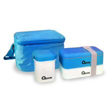 OXONE Bento Block with Thermal Bag / Kotak Bekal OX 068