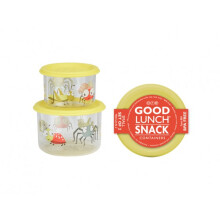 Sugar Booger Good Lunch Snack Containers Small Set of Two - Hungry Monster