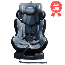 Car Seat BabyDoes 891 All Phases Dust Grey