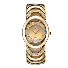 CURREN Imported original Stylish and elegant steel band diamond women's watch