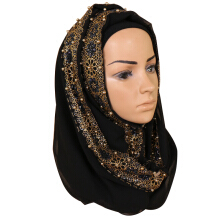 LOVOSME vintage ethnic ladies pearl lace headscarf