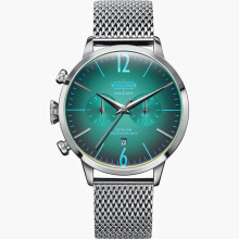 WELDER Breezy Steel Strap Steel Case Color Turquoise Dial 42mm [WRC801]