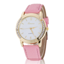 jam tangan wanita pria leather band luxury fashion daimond casual jam