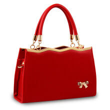 SiYing Urban White Collar Butterfly Decoration Women's Styling Shoulder Tote