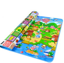 Abbyfrank Baby Crawling Mat Kids Carpet Rugs Double Side Animal + Letter Developing Gym Playmat Game Pad 180x120x0.5cm