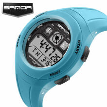 SANDA Fashion Watches Cute Watches For Girls Boys Children's Student Digital LED Wristwatches