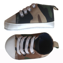 Saneoo Sneakers Prewalker Baby Shoes Army 3-6 bulan