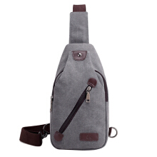 SiYing Korean canvas men's chest bag outdoor riding shoulder bag