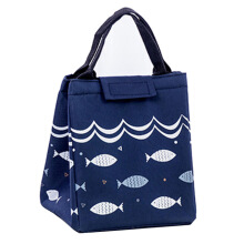 RADYSA Lunch Bag Fish - Navy Dark Blue