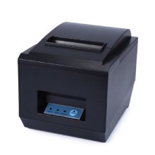 ZJ - 8250 POS Receipt Thermal Printer with 80mm Paper Rolls High-speed Printing Black