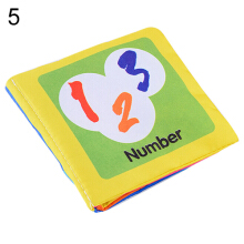 Infant Baby Children Kids Intelligence Development Cloth Book Cognize Book Toys
