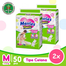 [TWINPACK] MERRIES Good Skin Popok Pants M - 50