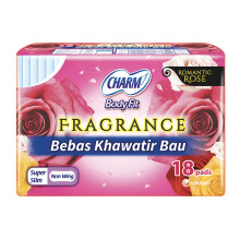 CHARM Pembalut Fragrance Extra Maxi Non Wing 18P