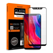 Spigen Xiaomi Mi 8 Tempered Glass Full Cover GLAS.tR  - Black