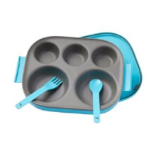 Pot De Miel Food Tray Blue