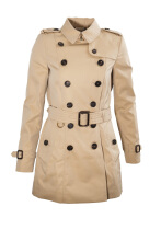 Burberry The Chelsea Short Heritage Trench Coat Outerwear