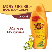 NATURAL HONEY Body Lotion Moisture Rich 200 ml