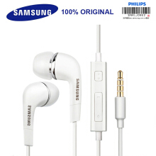 Jantens SAMSUNG original headphones EHS64 wired 3.5mm in-ear with microphone White