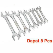Liker's Kunci Pas Set 8 Pcs (6-22) Diamond - grey