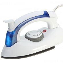 Setrika Uap Lipat Portable- 2IN1 Travel Iron Steamer
