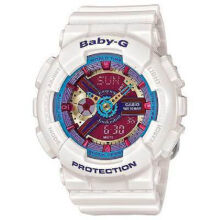 Casio Baby-G BA-112-7A Sports waterproof electronic watch-White