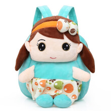 Wei's boutique fashion girl plush toy backpack B-TIMI201