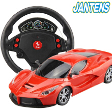 Jantens 1:24 Electric RC Cars Flash Lights Machines On The Remote Control Radio Control Cars Toys Red