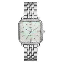 Fossil ES4268 Micah Ladies White Mother of Pearl Dial Stainless Steel Strap [ES4268]
