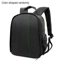 [COZIME] Double Shoulder Camera Bag outdoor photo bag Black
