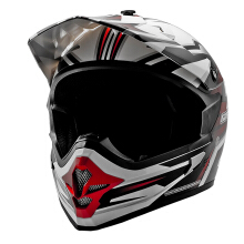 Helm Motocross Cargloss MXC Red - Super Whity White