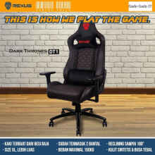 Rexus Kursi Gaming Chair Dark Thrones Legacy Dt1 / Dt-1 Kursi Gaming
