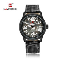 NAVIFORCE Brand Men Fashion Casual  Nylon Military Men's Watch Waterproof Quartz Wristwatches Dive Relogio Masculino 9080