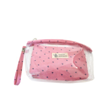 SOUGOOD - 2in1 set Pastel Cosmetic Pouch ( 1 set isi 2 )