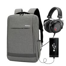 Wei's select fashion men's waterproof and wear-resistant computer backpack hot trend comes with USB backpack B-FC7031