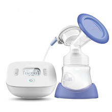 Jantens New  Electric Breast Pump With smart LCD Screen, Single USB Electric breast pump for White