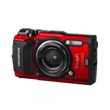 Olympus Stylus Tough TG-5 Digital Camera Red
