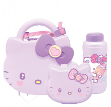 TECHNOPLAST Hello Kitty Fancy Revolution Set School Box - Ungu