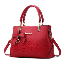SiYing Fashion Bow Rose Women's Cross Shoulder Tote
