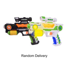 [kingstore] Children Role Play Games Electric Toy Gun Luminous Flash Light Music Gun Gift Multicolor