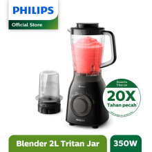 PHILIPS Viva Blender Tritan Jar w/ Plastic Mill HR2157/90
