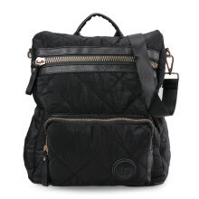 HUER Bessy 3 Ways Quilted Backpack 9476-003 Black