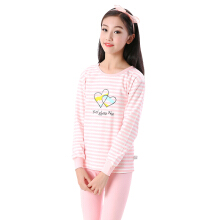 SiYing cotton children's underwear comfortable and breathable girls two-piece suit