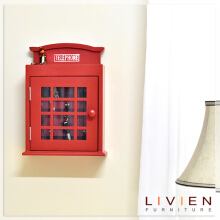 Kotak Kunci - British Key Rack - LIVIEN FURNITURE
